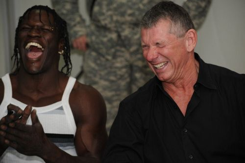 Image result for R Truth Vince McMahon
