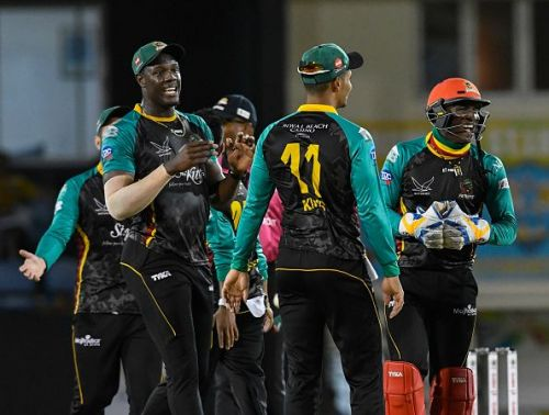 St Lucia Stars v St Kitts & Nevis Patriots - 2018 Hero Caribbean Premier League (CPL) Tournament