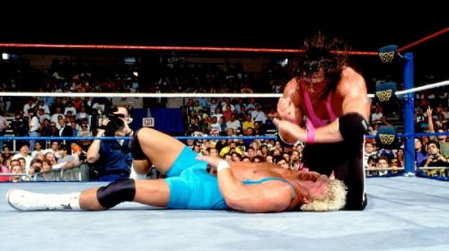 Mr. Perfect and Bret Hart always stole the show