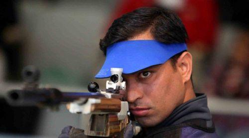 Sanjeev Rajput won third medal of the day