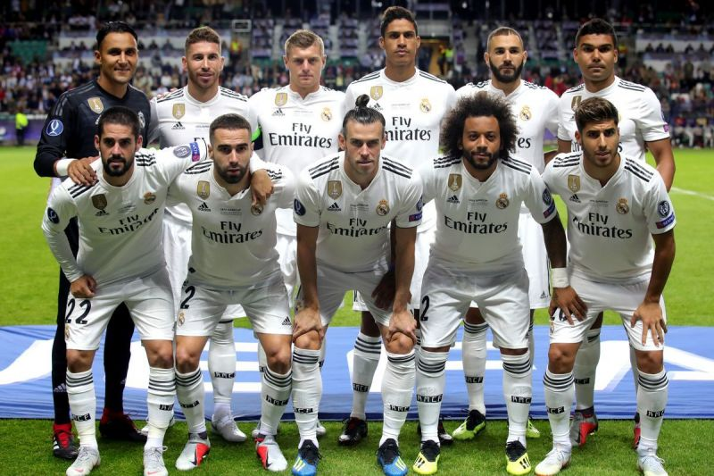 Real Madrid: Weekly wages and salaries of first-team stars