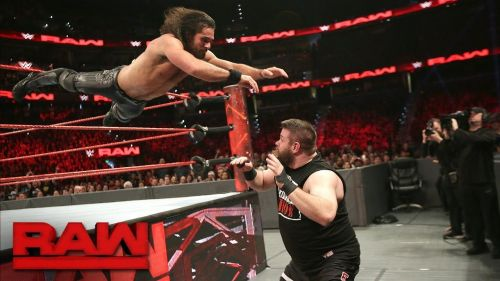 Seth Rollins vs Kevin Owens stole the show this week