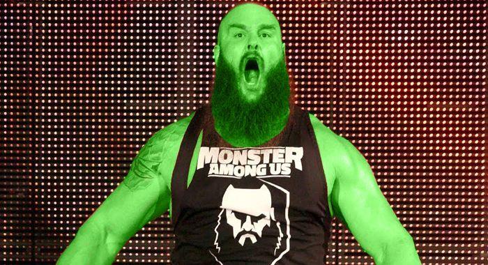 Strowman as Hulk.