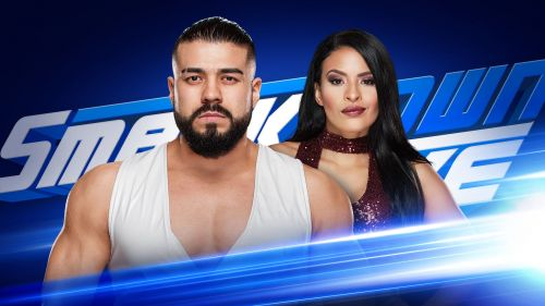 Image result for wwe andrade cien almas smackdown