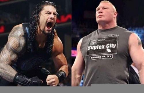 Image result for Roman reigns and brock