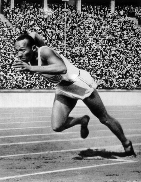 Jesse Owens of the USA