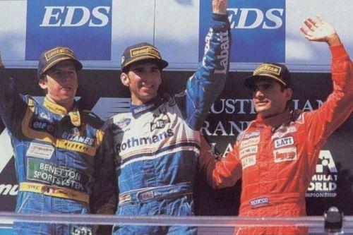 Gianni Morbidelli 1995 Australian GP