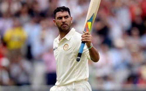 Image result for yuvraj singh test cricket