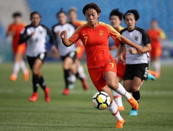 Asian Games 2018 - Round of Women s Football action Day 5 dac179cff