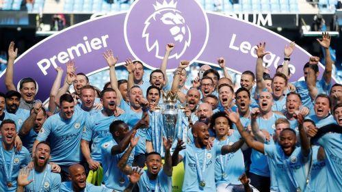 Man City title celebration