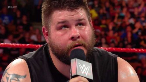 Kevin Owens quit WWE on Monday Night Raw.