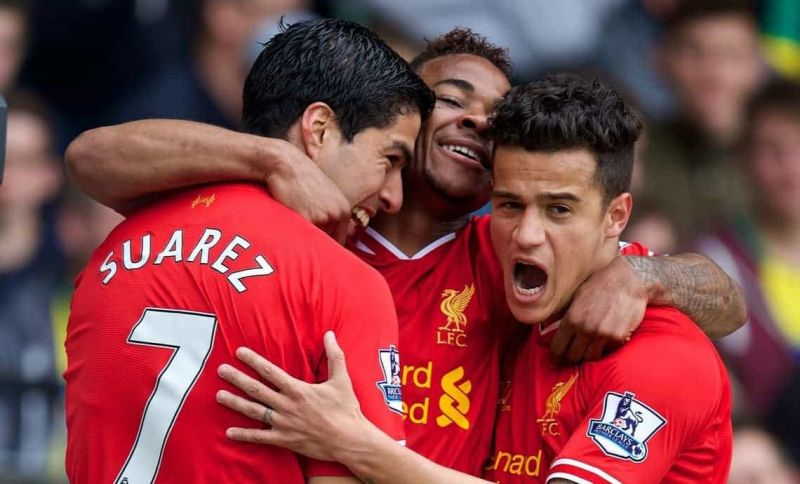 Suarez, Sterling and Coutinho are three notable players to leave Liverpool in recent years