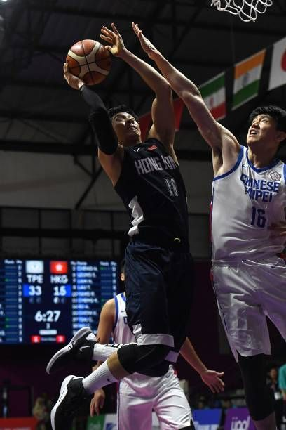 Enter captionAction from India vs Unified Korea Basketball match at Asian Games on Day 6