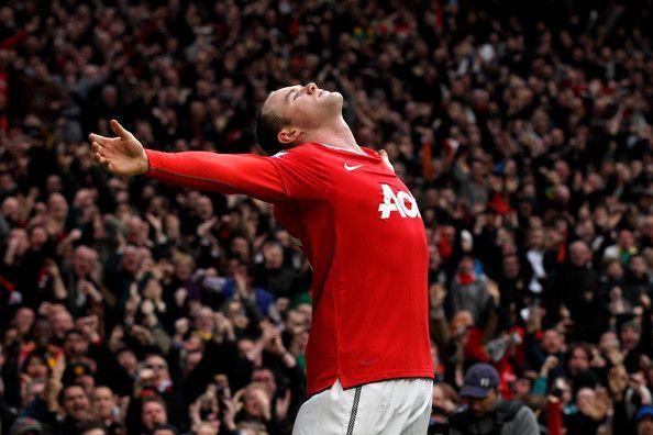 The Wayne Rooney show!