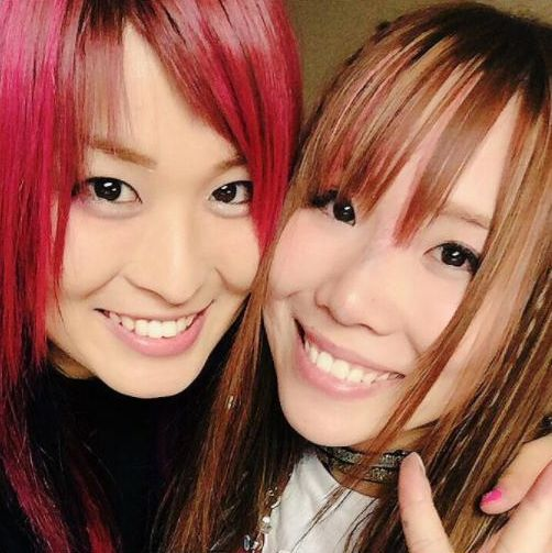 Kairi Sane and Io Shirai