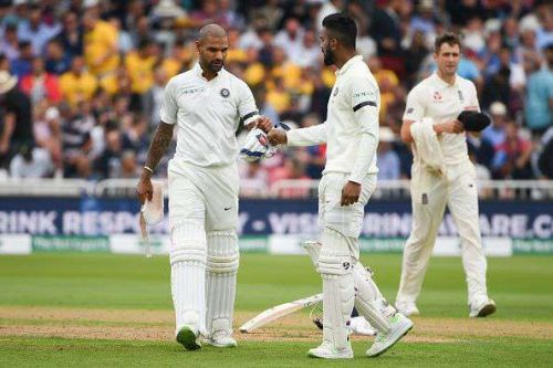 Shikhar Dhawan and KL Rahul batted with Intent Negating the England Seamers