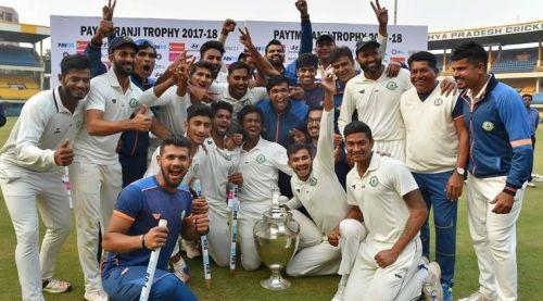 Vidarbha are defending champions in the upcoming Ranji Trophy season