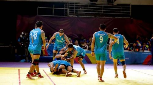 The Indian team fell to a mighty Iranian setup