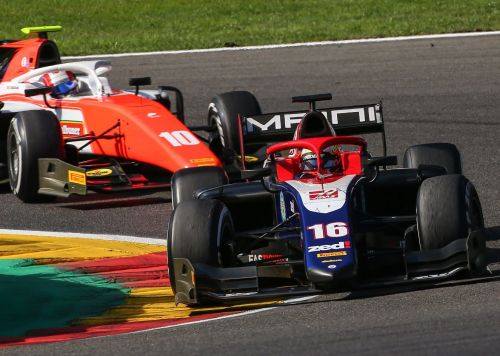 Arjun Maini in action at Spa