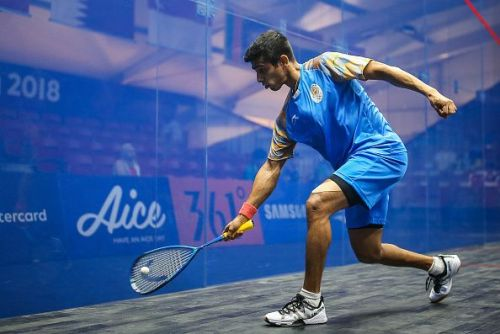 Saurav Ghosal was a part of the Men's team which secured a Bronze medal