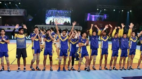 Thailand Kabaddi Team mostly comprise of students from high schools and universities.