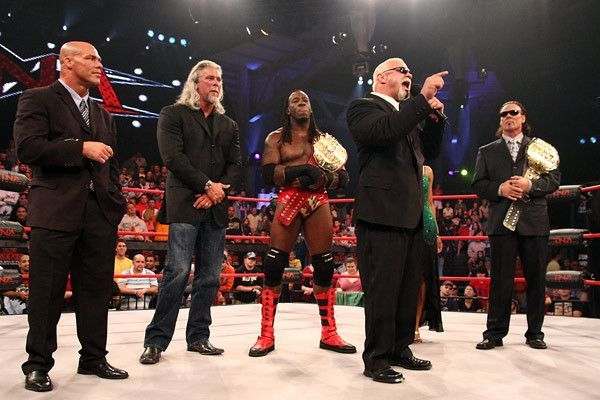 In the beginning, TNA couped many big names, popular from their time in WWE.