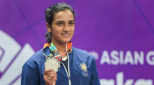 Silver for Sindhu