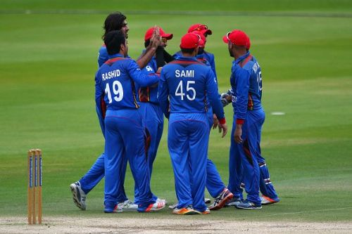 Afghanistan won the T20I Series