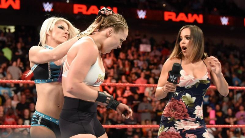 Could Bliss achieve the unthinkable and score a clean win over Ronda Rousey?
