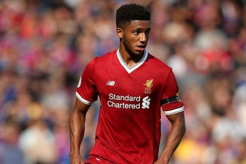 Joe Gomez is expected to start alongside Virgil van Dijk.