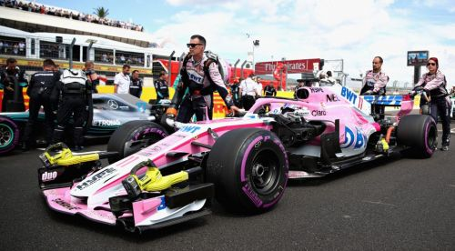 Force India has come under the scanner