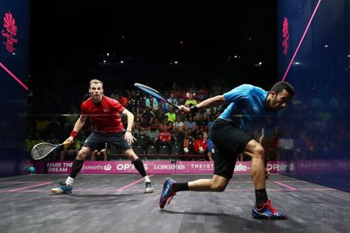 Squash - Commonwealth Games Day 2