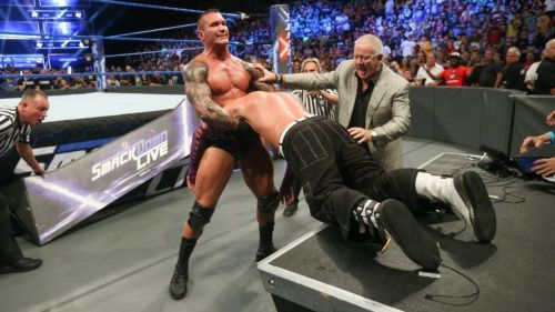 Randy Orton and Jeff Hardy have had quite the rivalry in the past few weeks