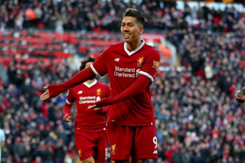 Firmino scored 27 goals and assisted 15 more in 2017/18