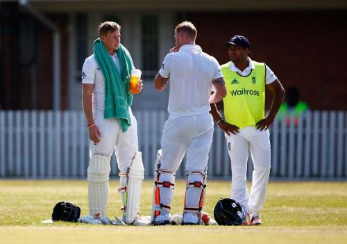 South Africa Invitation XI v England - Tour Match: Day Two