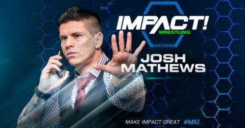 Josh Mathews talked about Chris Jericho coming to Impact Wrestling!