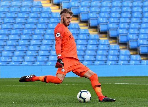 Daniel Grimshaw Manchester City goalkeeper