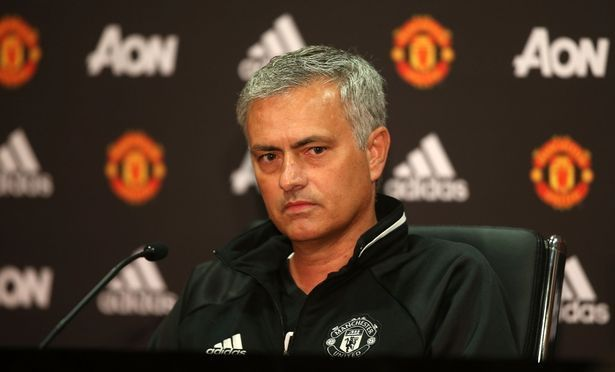 Image result for jose mourinho man utd press conference