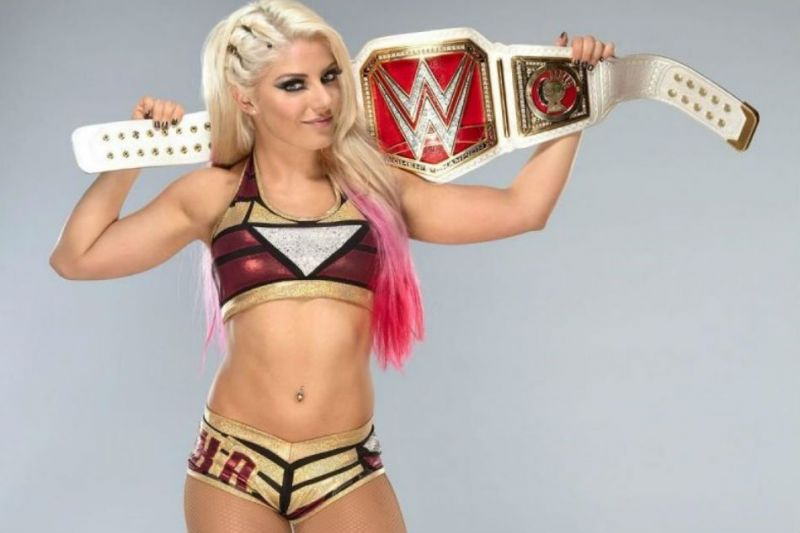 Alexa Bliss has held the title for 55+ days