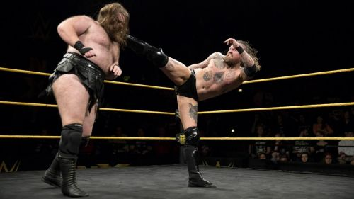 Aleister Black may be removed from the night's main event