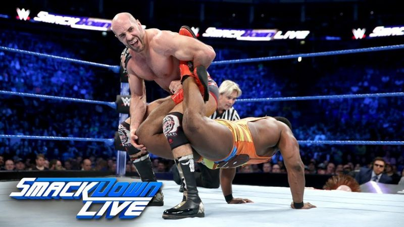 Image result for wwe smackdown  new day vs the bar