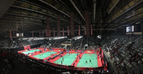 Gelora Bung Karno Sports Palace : Venue for badminton at Jakarta Asian Games 2018