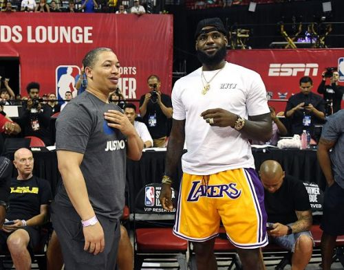 2018 NBA Summer League - Las Vegas - Detroit Pistons v Los Angeles Lakers