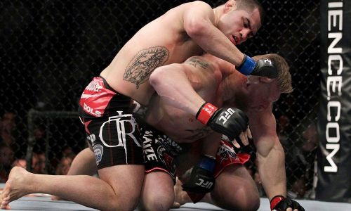 Lesnar was destroyed by Cain Velasquez in 2010