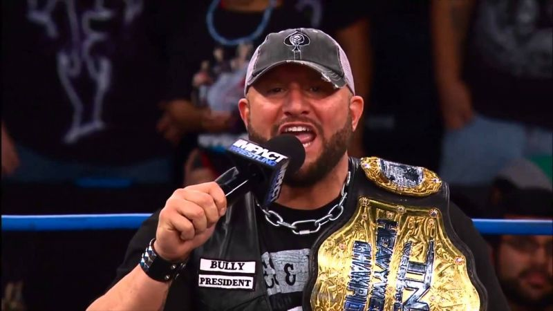 Bully Ray as the TNA World Champion.