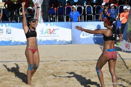 Indonesian pair of Juliana and Utami suprised everyone by taking the Bronze.