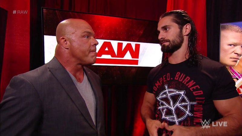 Seth Rollins is feeling the frustration as part of his feud with Dolph Ziggler and Drew Mcintyre