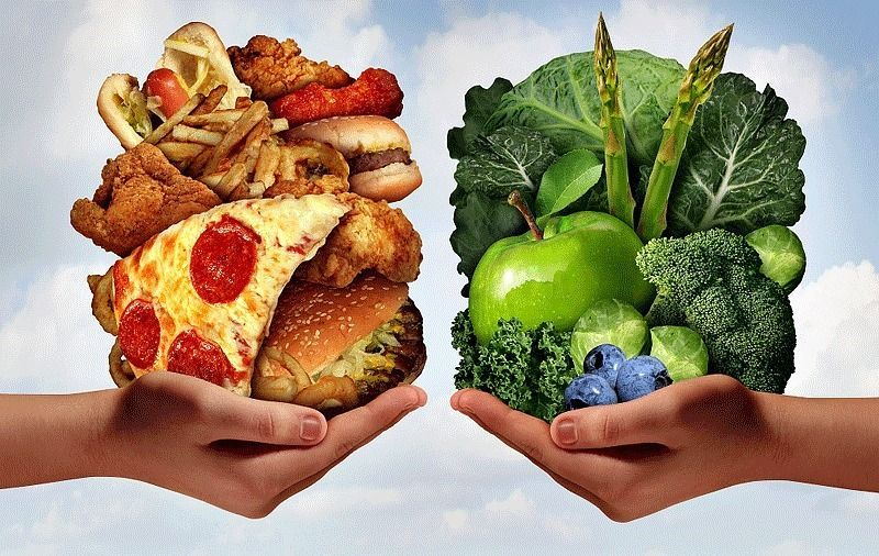 Avoid junk food. Include veggies, it keeps you fuller and satiated for a longer time