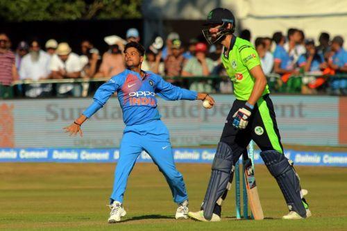 Yadav did a great job against the Irish batsmen