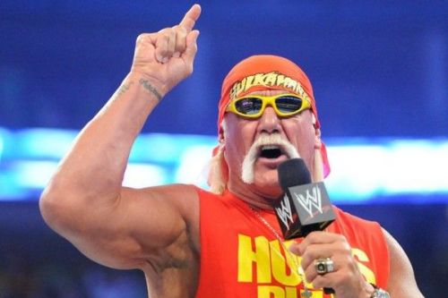 WWE legend Hulk Hogan was backstage at this week's SmackDown Live tapings